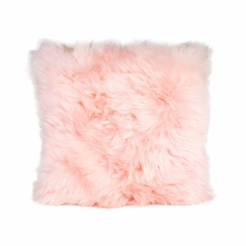 Coussin mouton rose