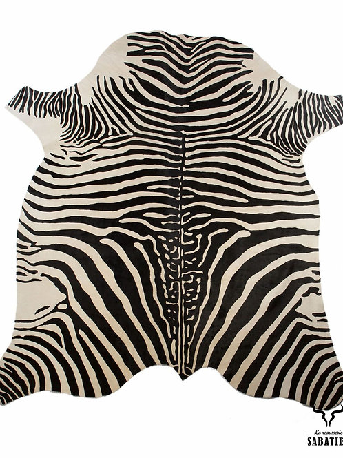Peau vache zebre