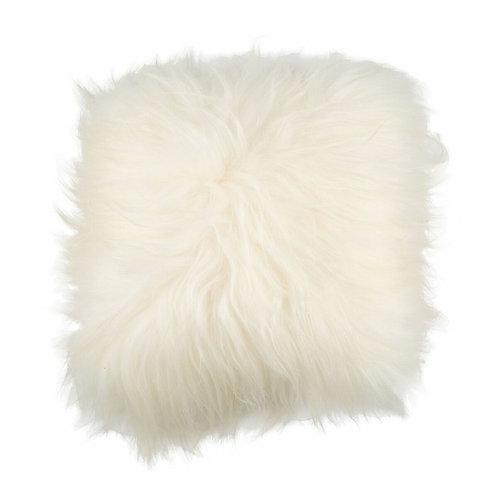 Coussin mouton blanc