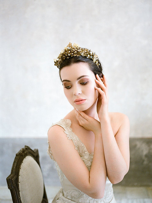 PARIS | Antique Floral Crown