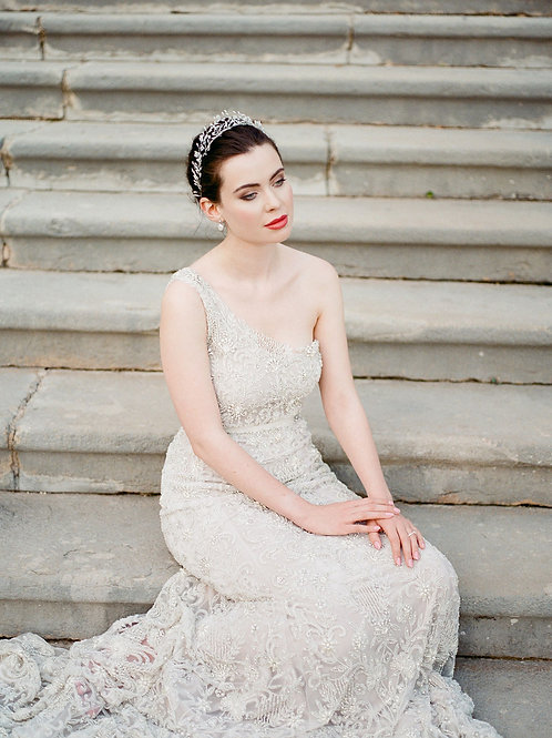 ROUSSEAU | Couture Crystal Wedding Gown
