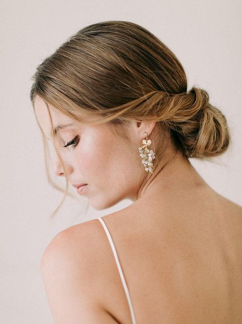 FONTEYN   Orchid Drop Earrings