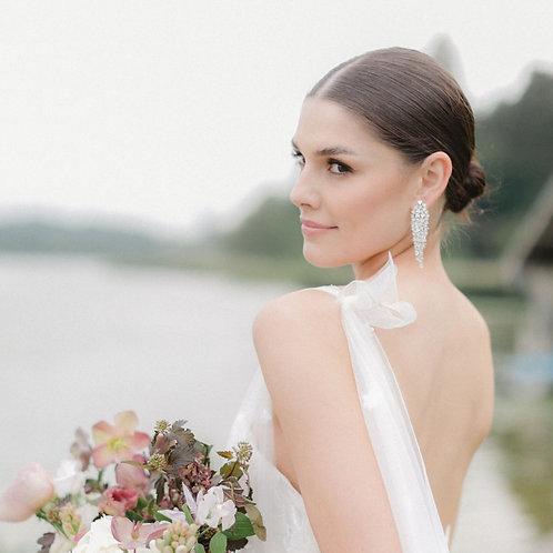 Sample   CARTER   Luxury Diamond Drop Earrings