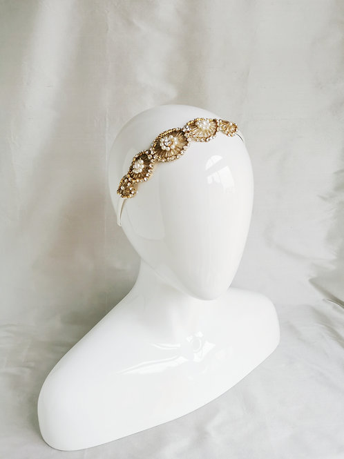 ZIGGY | Gold Headpiece