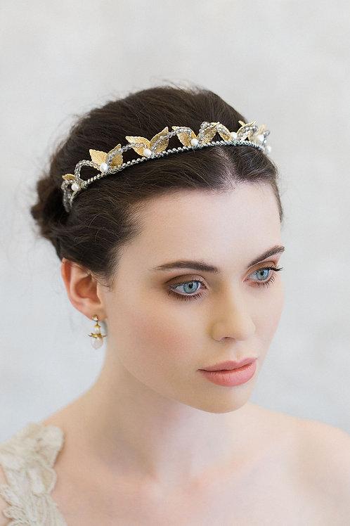MONET   Gold Wedding Crown