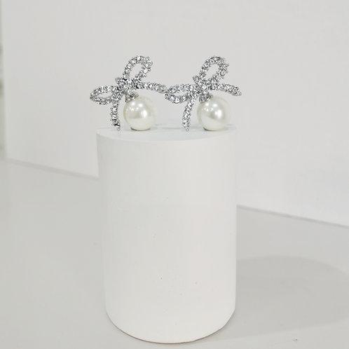 HOPE | Crystal Bow Earrings