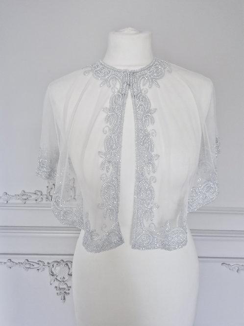 ZANTE | Pearlised Bridal Cape