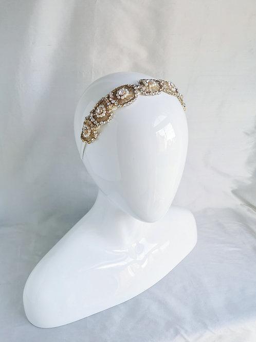 ZIGGY LARGE   Golden Deco Headband