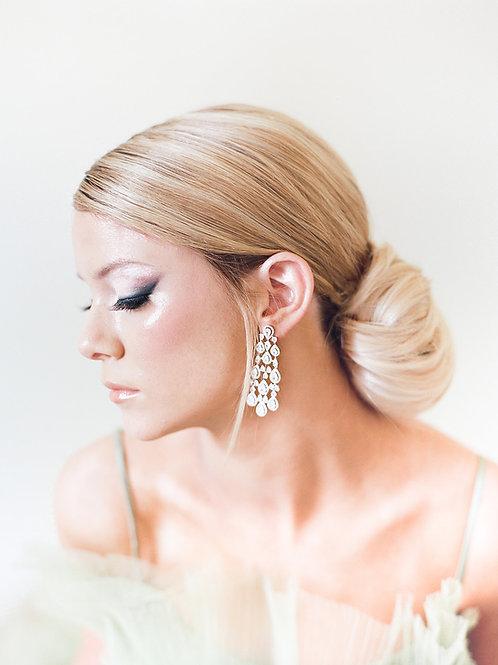 Sample | BONHAM | Crystal Chandelier Earrings