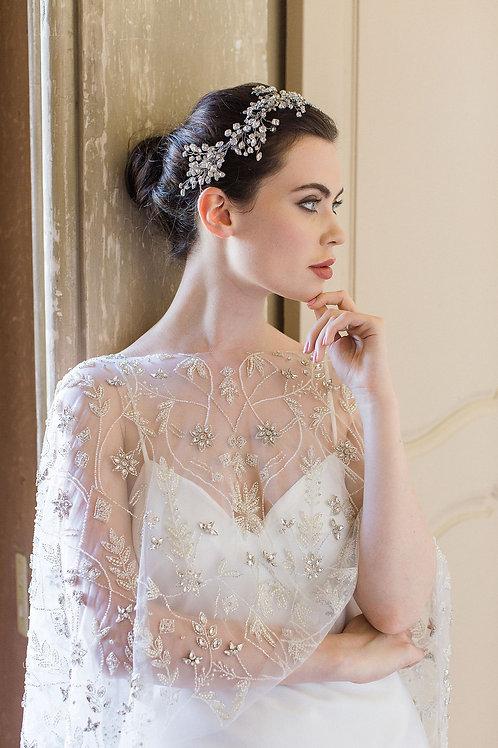 PALAIS | Crystal Snowflake Bridal Cape