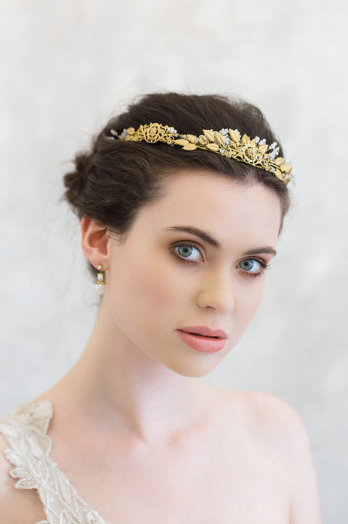 ELISABETH | Antique Filigree Crown
