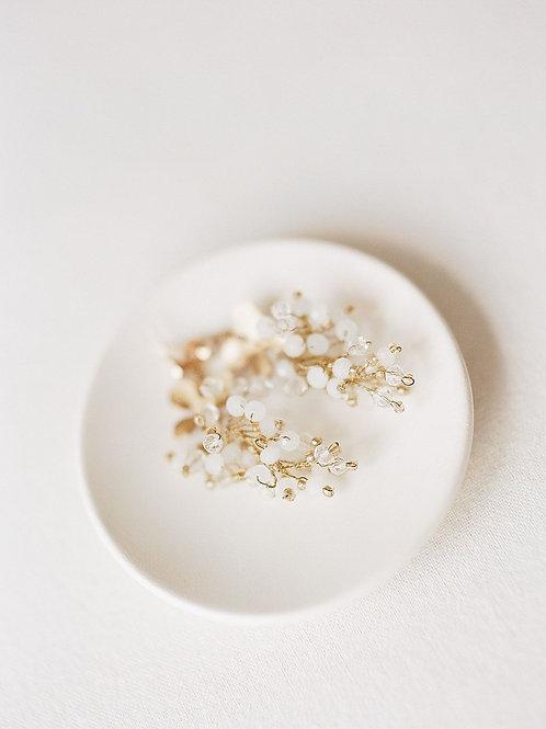 FONTEYN | Orchid Drop Earrings