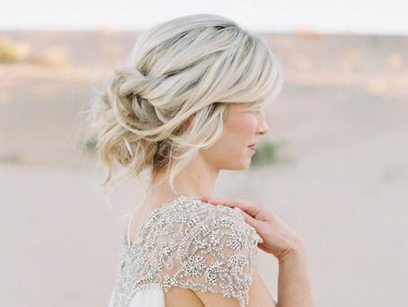 26 Effortlessly messy wedding hairstyles