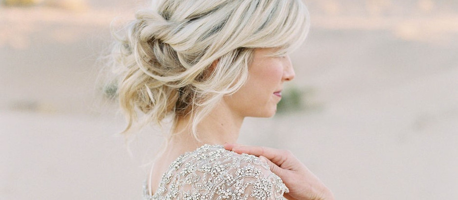 26 Effortlessly messy wedding hairstyles