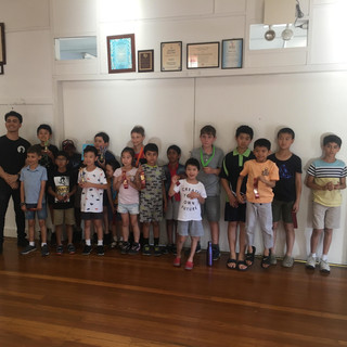 October Junior Tournament Winners