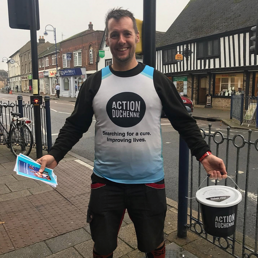 Bucket collection St Neots