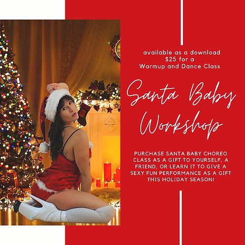 Santa Baby Dance Workshop                (Online Download)