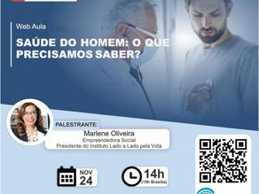 Instituto LAL participa de webinar sobre a saúde do homem