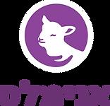 לוגו אורכי סגול עם טלה לבן.png