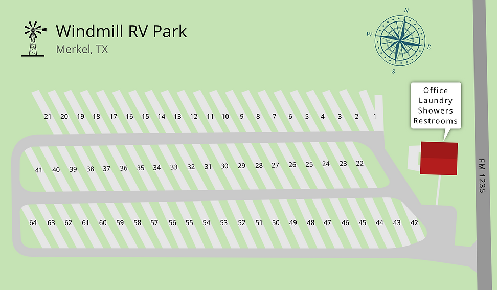 Windmill RV  Park Map.png