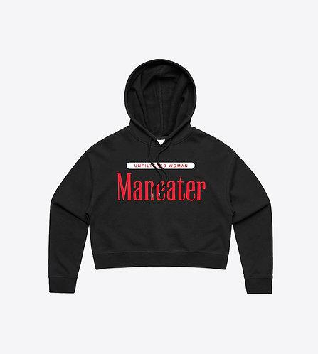 Maneater Crop Hoodie - Women's