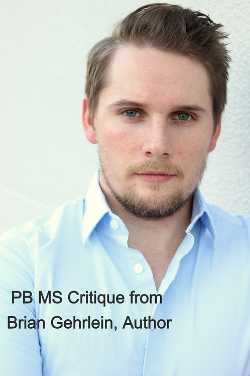 PB MS Critique from Brian Gehrlein, Author