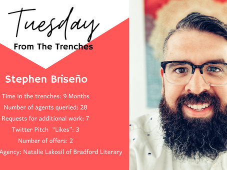 Tuesday From The Trenches: Stephen Briseño