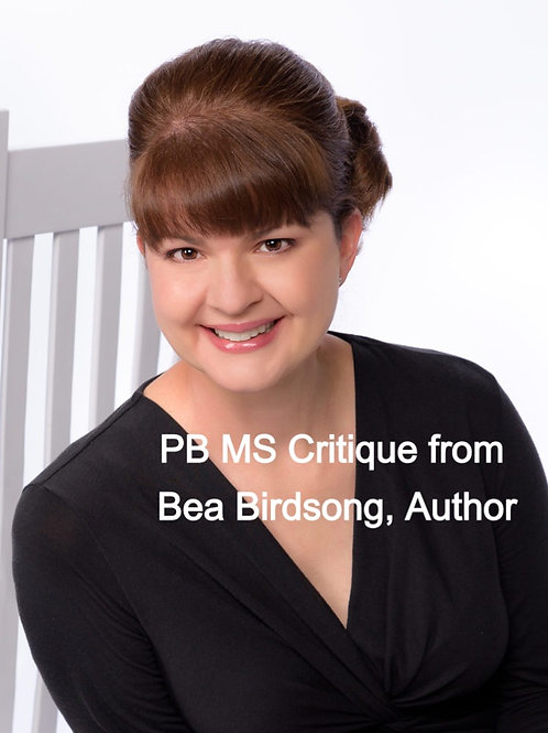 PB MS Critique from Bea Birdsong, Author
