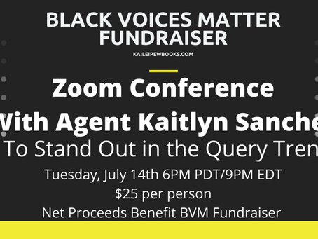 """""""How To Stand Out In The Query Trenches"""" Webinar with Agent Kaitlyn Sanchez"""