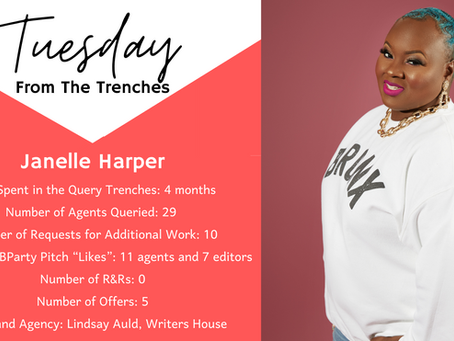 Tuesday From The Trenches: Janelle Harper