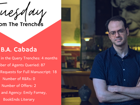 Tuesday From the Trenches: B.A. Cabada