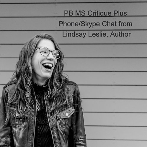 PB MS Critique Plus Phone/Skype Chat from Lindsay Leslie, Author