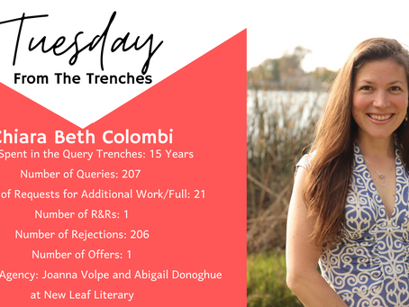 Tuesday From The Trenches: Chiara Beth Colombi