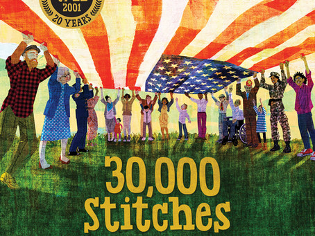 30,000 Stitches: A Book of Hope, Unity, and Healing