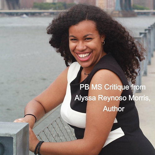 PB MS Critique from Alyssa Reynoso Morris, Author