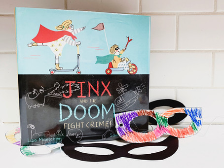 Jinx and the Doom Fight Crime and Printable Super Hero Masks