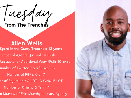 Tuesday From The Trenches: Allen Wells