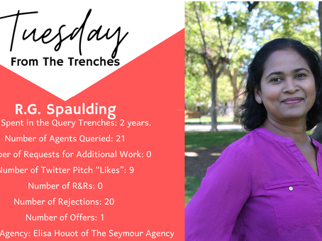 Tuesday From The Trenches: R.G. Spaulding