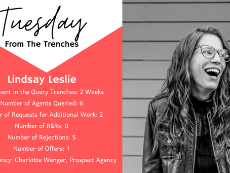 Tuesday From The Trenches: Lindsay Leslie