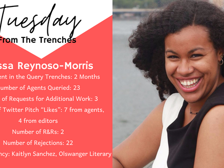 Tuesday From The Trenches: Alyssa Reynoso-Morris