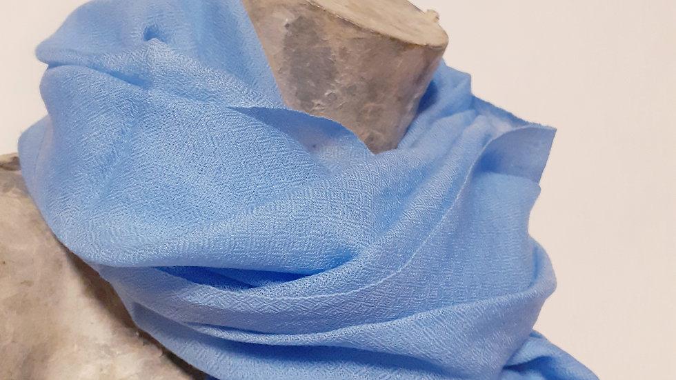 Etamine bleu ciel 90x200 CM