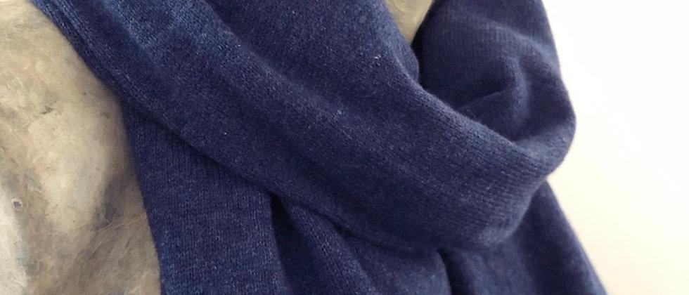 Tricoté bleu jeans