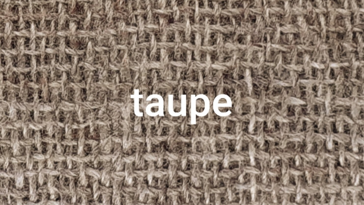 Taupe chiné 90x200 CM