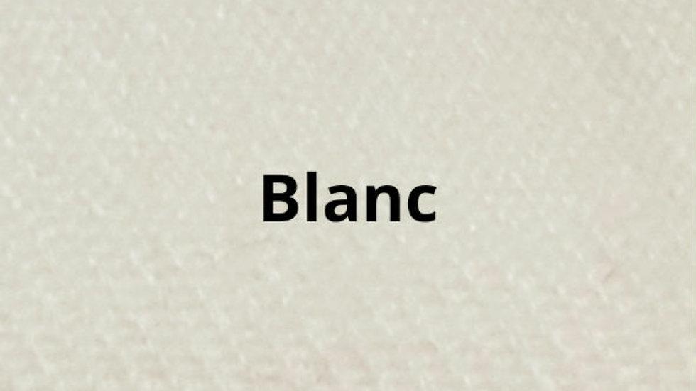 Couvre lit blanc 230x250 cm