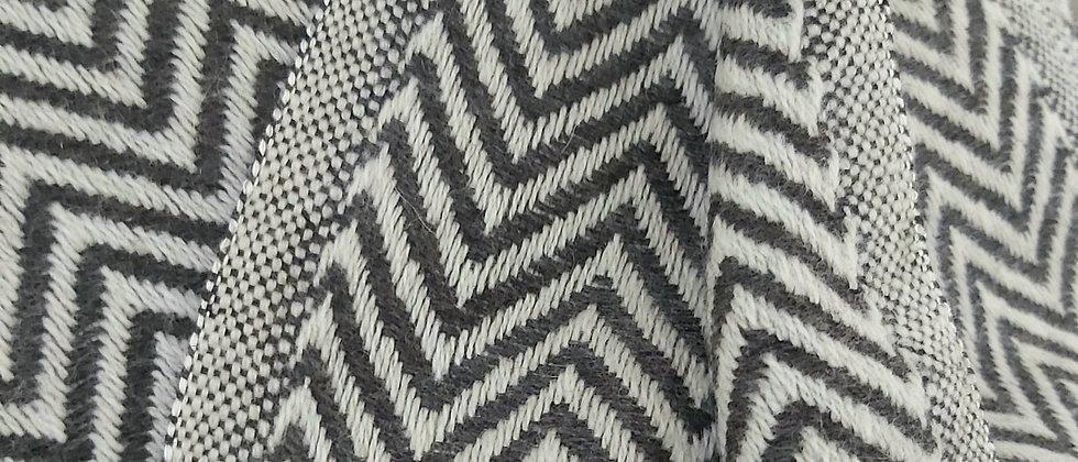 Plaid gris foncé