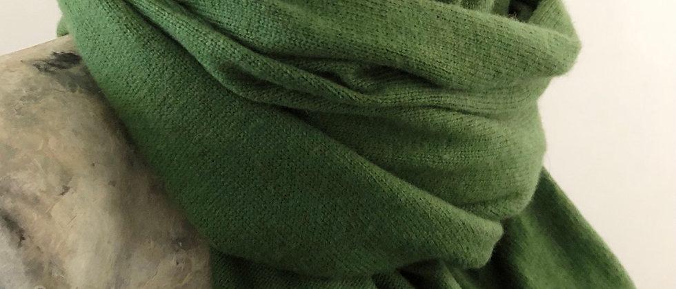 Tricoté vert