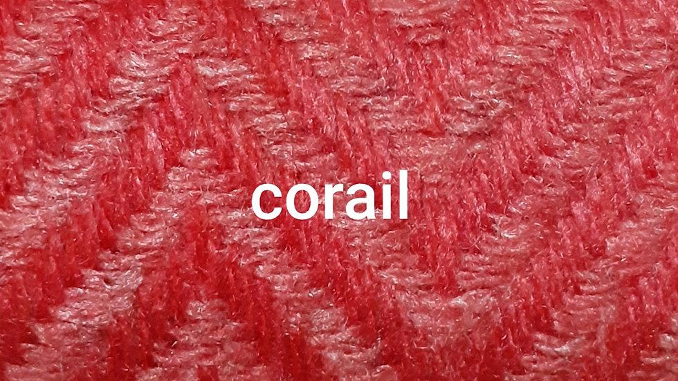 Plaid corail 130x250 CM