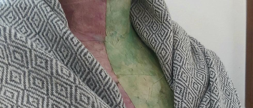Plaid gris losange