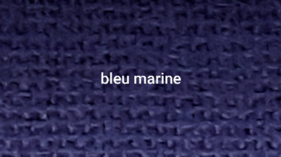 Bleu marine uni 90x200 CM