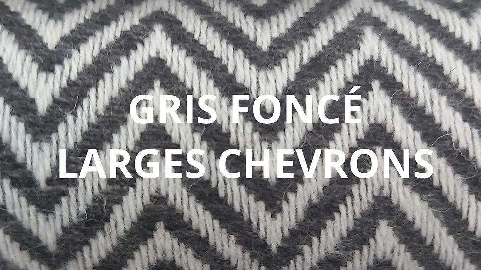 Plaid gris foncé 130x250 CM